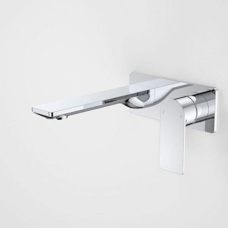 CAROMA-Caroma Urbane II 180mm Wall Basin/ Bath Mixer-Square Cover Plate - Brand_Caroma, Collection_Urbane II, Colour_ Matte Black, Colour_Brushed Gold, Colour_Brushed Nickel, Colour_Chrome, Colour_Gun Metal, Length_180mm, Product Type_Wall Mixer Set, Room_Bathroom, Shape & Design_ Round & Square-Ideal Bathroom Centre