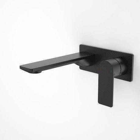 Caroma Urbane II180mm Wall Basin/ Bath Mixer-Square Cover Plate