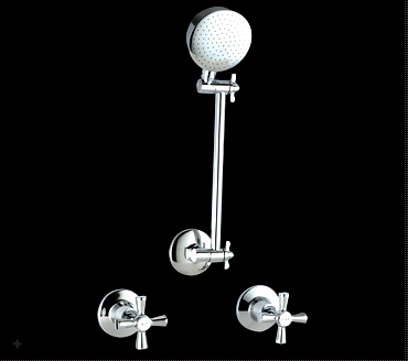 Classic Shower Tap Set - Idealbathroomcentre