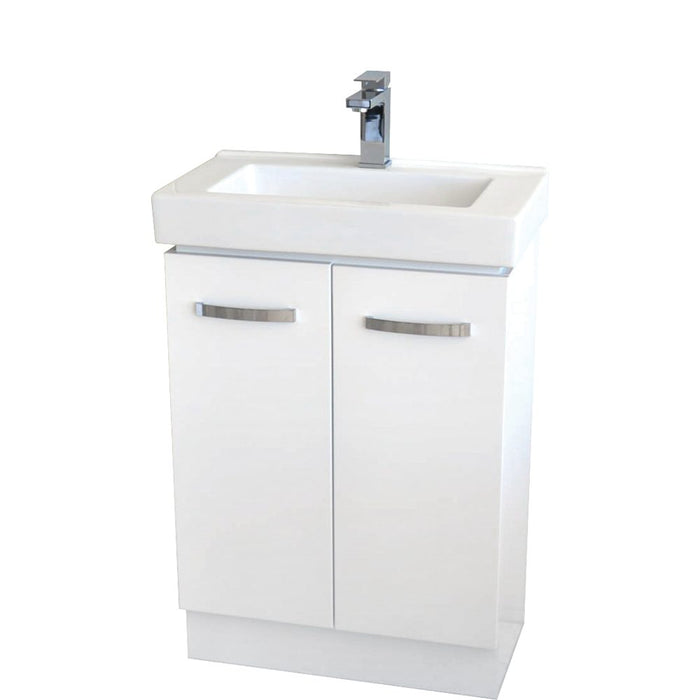 Fienza Regent Slim 600mm with kickboard - Idealbathroomcentre