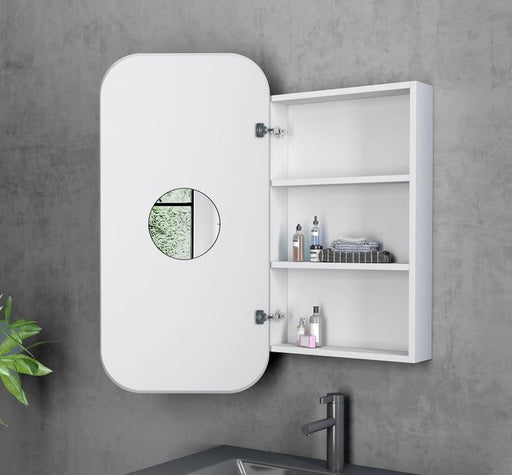 Otti Newport 900x450mm Shaving Cabinet - Idealbathroomcentre