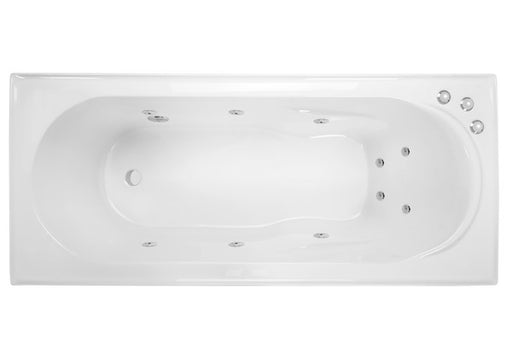 Decina Adatto1510/1650 Santai 10 Jets Spa Bath - Idealbathroomcentre