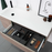 ADP-ADP Drift 900/1200mm Wall Hung Vanity - Brand_ADP, Colour_ Matte Black, Colour_Gloss White, Colour_Matte Grey, Colour_Matte White, Colour_Woodgrain, Product Type_ Wall Hung Vanity, Size_1200mm, Size_900mm, Vanity Tops_ Solid Stone Top-Ideal Bathroom Centre