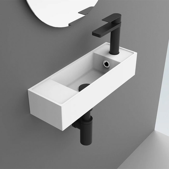 ADP Econ Solid Surface Wall Hung Basin