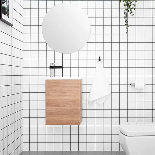 ADP-ADP Piccolo 400mm Small Space Vanity - Bathrooms > Vanities > Small Space Vanities, Brand_ADP, Colour_ Matte Black, Colour_Gloss White, Colour_Matte Grey, Colour_Matte White, Colour_Woodgrain, Product Type_ Freestanding Vanity, Product Type_ Small Space Vanity, Product Type_ Wall Hung Vanity, Size_400mm, Vanity Tops_ European Cast Marble-Ideal Bathroom Centre