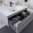 ADP-ADP Summer All-Drawer 1200mm Wall Hung Vanity - Brand_ADP, Colour_ Matte Black, Colour_Gloss White, Colour_Matte Grey, Colour_Matte White, Colour_Woodgrain, Product Type_ Wall Hung Vanity, Size_1200mm, Vanity Tops_ European Cast Marble-Ideal Bathroom Centre