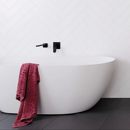 ADP Day Dream 1700 Freestanding Bath Matte White