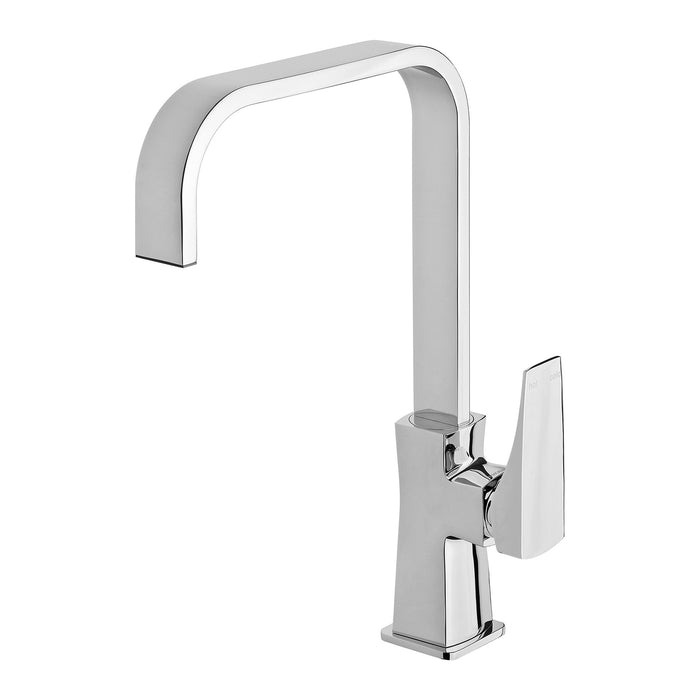 Phoenix Argo Sink MIxer 200mm Squareline - Idealbathroomcentre