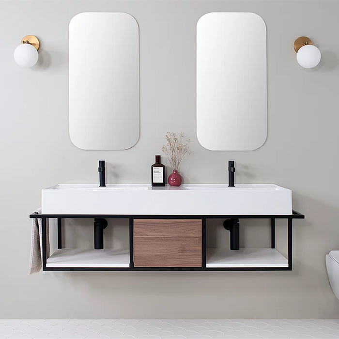ADP Antonio 1400mm Vanity Double Bowl - Idealbathroomcentre