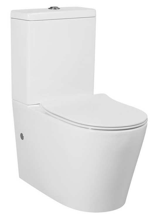 Alzano Rimless Back To Wall Toilet Suite