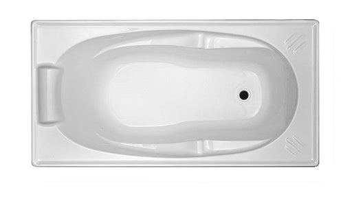 Alita Drop in Acrylic Bathtub- 1370x700x430mm