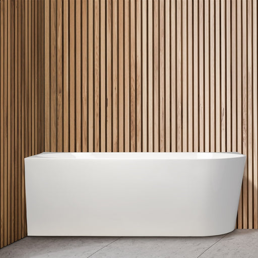 Cassa Design Auris Corner Back to Wall Bathtub - Idealbathroomcentre