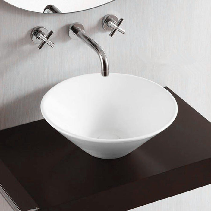 Forme Bell 420mm Round Ceramic Basin