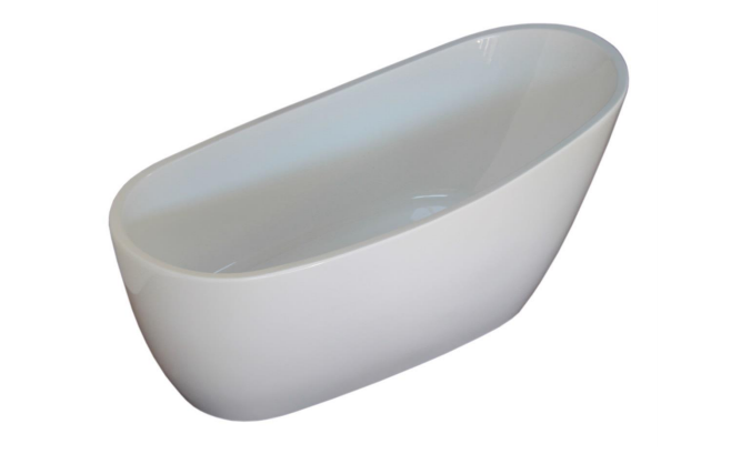 Forme Hilton White 1740 Freestanding Bath - Idealbathroomcentre
