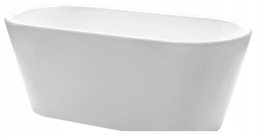 Forme Oval Slim 1400 Freestanding Bath
