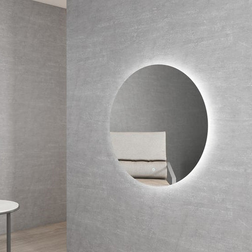 Otti Bondi Round 800mm LED Framelss Mirror - Idealbathroomcentre