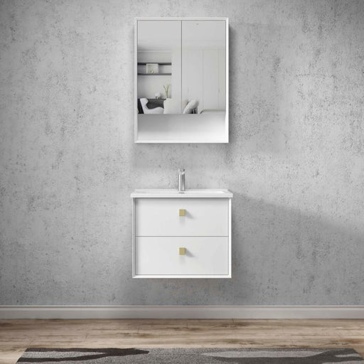 Otti Boston 600mm Shaving Cabinet Matte White