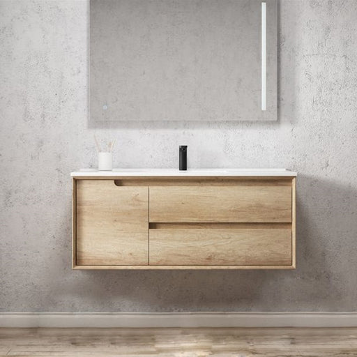 Otti Byron 1200mm Vanity Natural Oak - Idealbathroomcentre