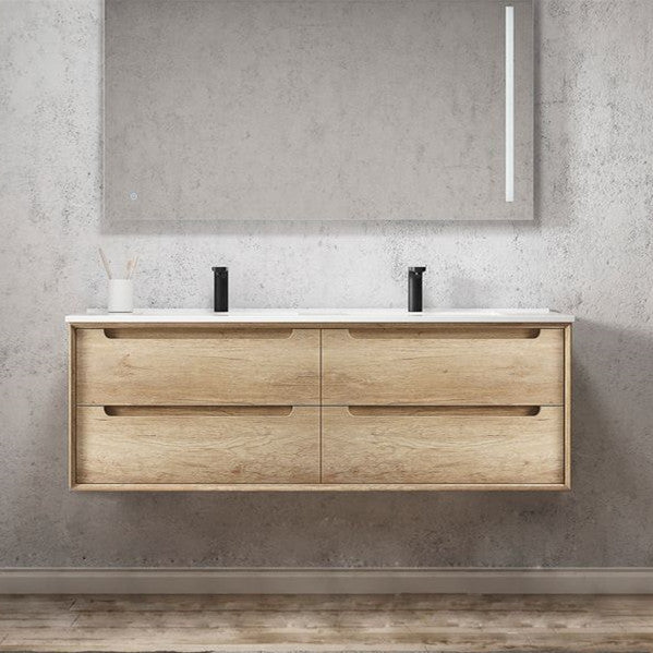 Otti Byron 1500mm Vanity Natural Oak - Idealbathroomcentre