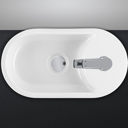 STUDIO BAGNO-Studio Bagno Bambino 410mm Basin - Basin, Bathroom, Brand_Studio Bagno, Colour_ Matte Black, Colour_Gloss Black, Colour_Gloss White, Colour_Matte White, Material_Ceramic, Product Type_Above Counter Basin, Product Type_Wall Hung Basin, Shape & Design_Oval-Ideal Bathroom Centre