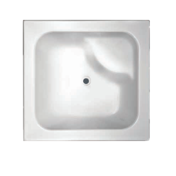 Bebe  Drop In Acrylic Bathtub-905x905x330mm