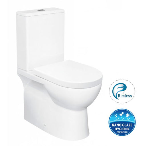 Bella Rimless Back To Wall Toilet