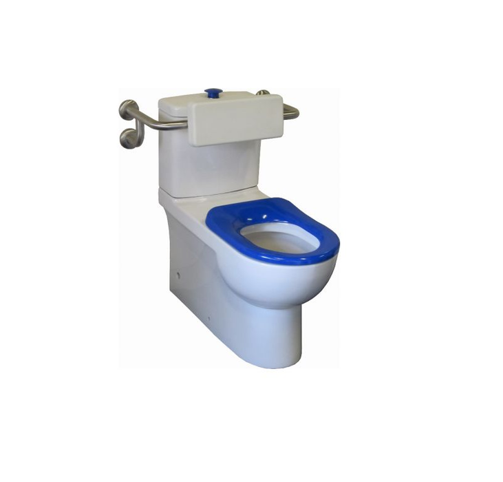 Johnson Suisse Life Assist FTW Toilet With Backrest - Idealbathroomcentre