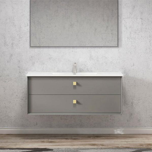 Otti Boston 1200mm Vanity Matte Grey - Idealbathroomcentre