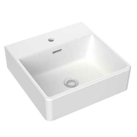 Clark Square Wall Basin 400mm