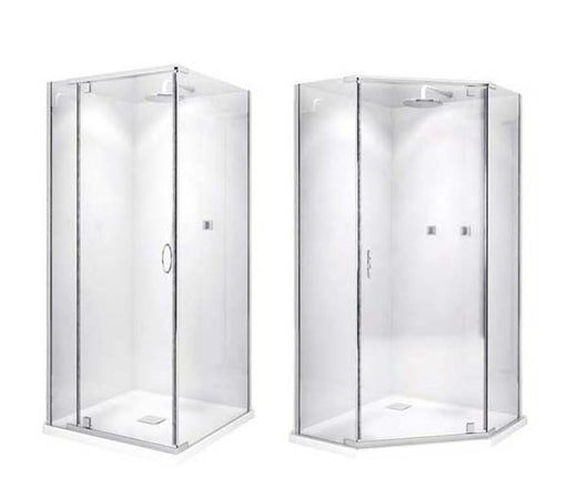 Decina Cascade Shower Screen 900*900*2000mm - Square