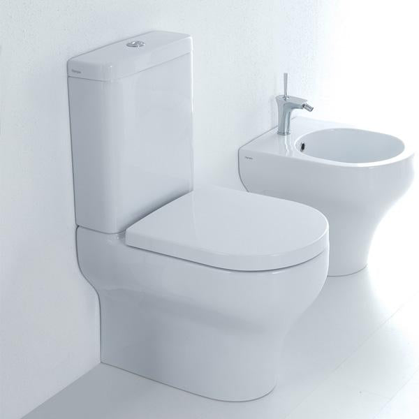 Studio Clear Back To Wall Toilet Suite - Idealbathroomcentre