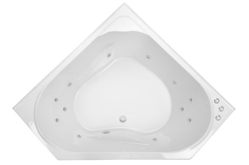 Decina Anguelique 1295/1465 Santai 12 Jets Spa Bath - Idealbathroomcentre