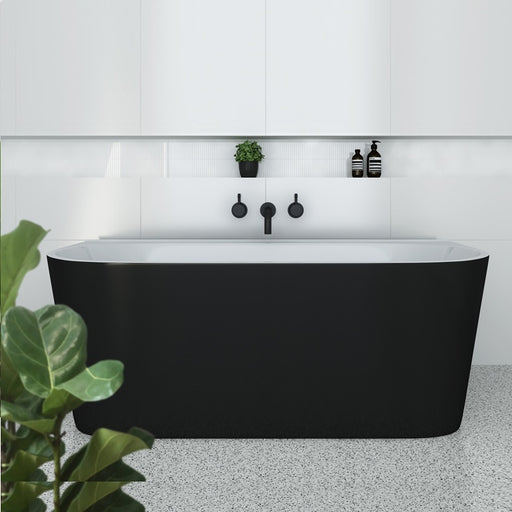 Decina Alegra 1700 Back To Wall Freestanding Bath