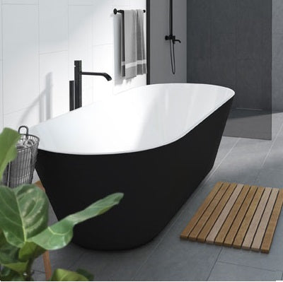 Decina Elina 1500/1790 Freestanding Bath-Black