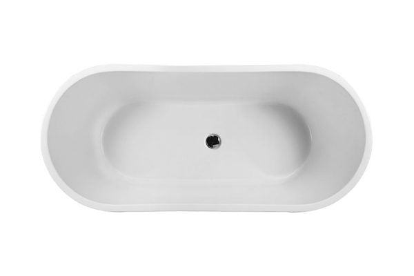 Decina Hilton 1800mm Freestanding Bath - Idealbathroomcentre