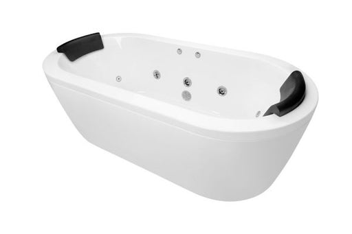 Decina Mintori 1790 Freestanding Dolce Vita 18 Jets Spa Bath - Idealbathroomcentre