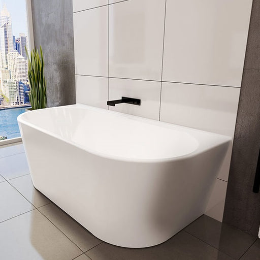 Decina Alegra Back To Wall Freestanding Bath