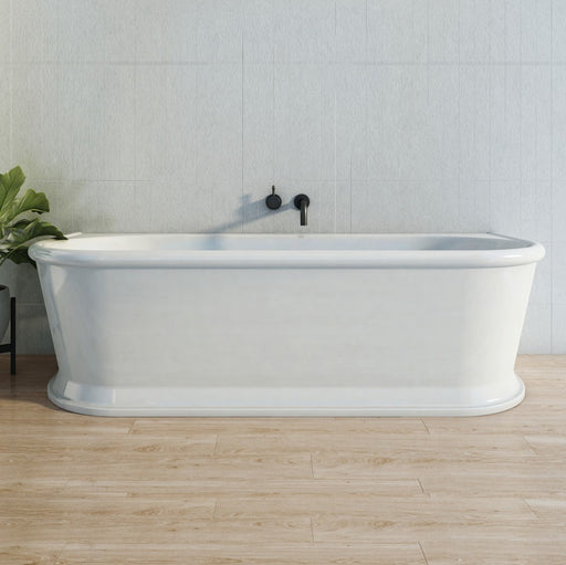 Decina Oxford 1700 Back To Wall Freestanding Bath