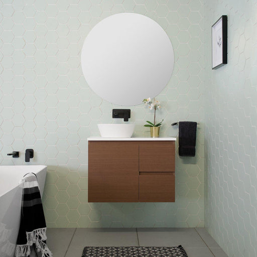 ADP Emporia Twin 750mm Wall Hung Vanity Offset Bowl
