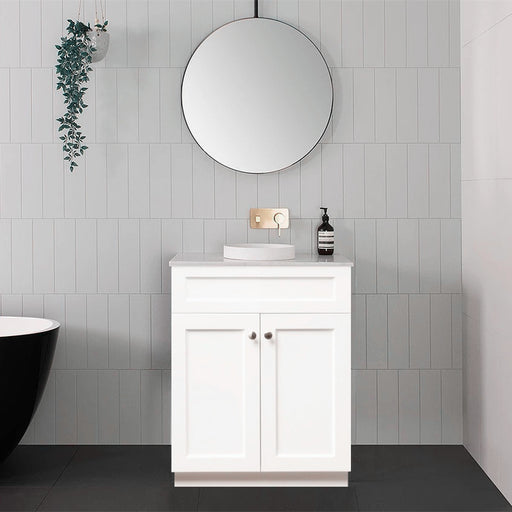 MILANO Federation 600mm Freestanding Vanity with Ceramic Basin
