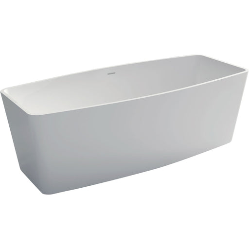 Fienza Bafana 1700 Matte White Stone Freestanding Bath - Idealbathroomcentre