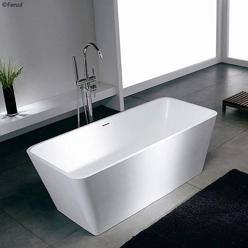 Fienza Bellona 1480 Lightweight Resin-Stone Freestanding Bath - Idealbathroomcentre