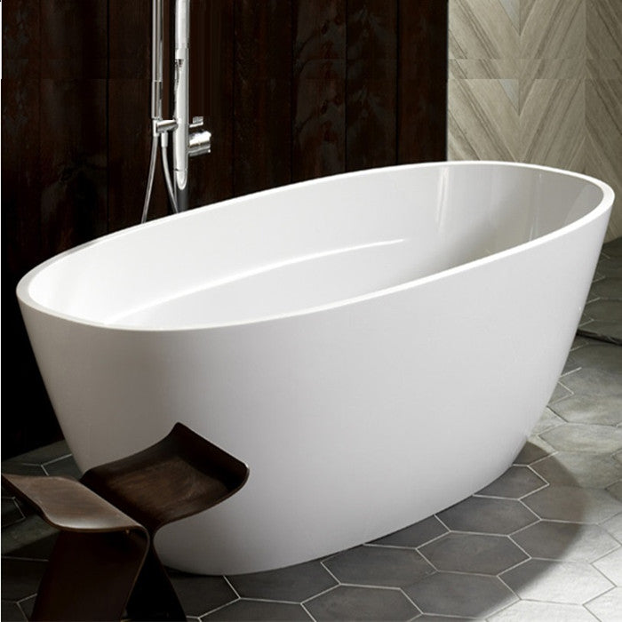 Fienza  Athenia 1700 Freestanding Acrylic Bath - Idealbathroomcentre