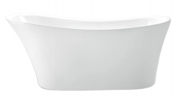 Forme Libra White 1715 Freestanding Bath - Idealbathroomcentre