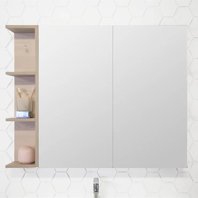 ADP Glacier 900mm Shaving Cabinet - Idealbathroomcentre