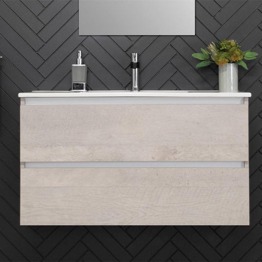 ADP Glacier Ceramic All Drawer Ensuite 900mm Twin Vanity