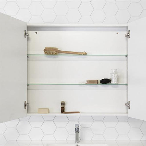 ADP Glacier 1050mm Shaving Cabinet, Double Shelves
