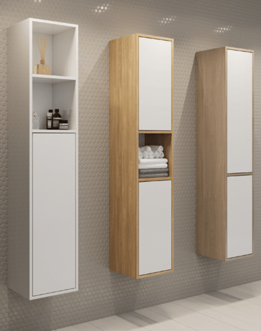 Timberline Hudson Box Tallboy 1500mm - Idealbathroomcentre