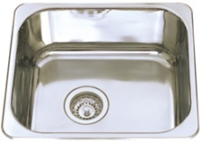 Classic Under-mount/ Drop-in Kitchen Sink- 445x395x180mm