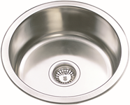Classic Under-mount/ Drop-in Kitchen Sink-430x430x170mm